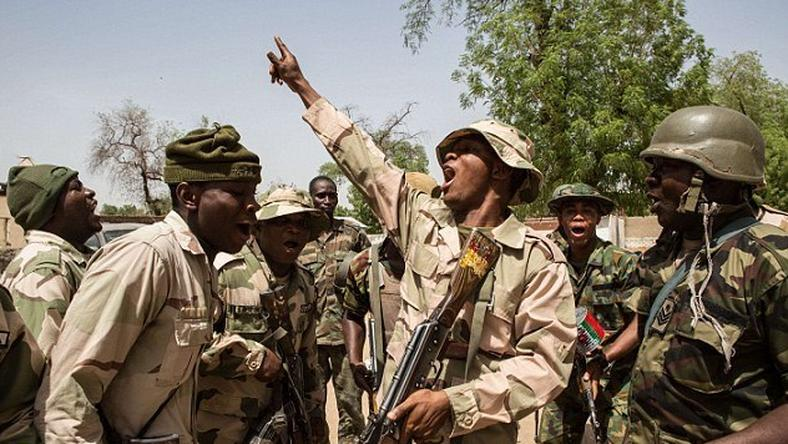 Troops waging war against Boko Haram