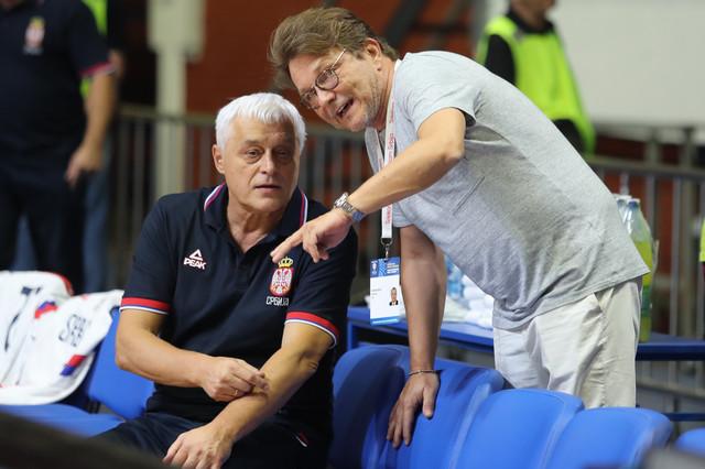 Miroslav Muta Nikolić i Dragan Bjelogrlić