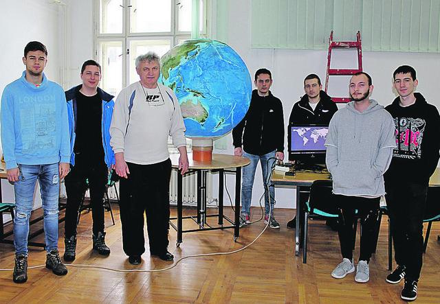 3D globus će biti zvanično predstavljen za dva meseca