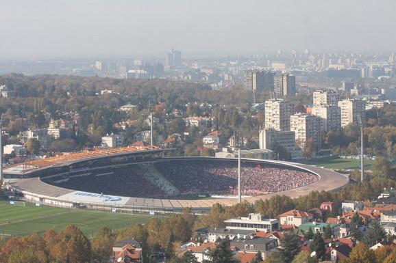 Po novom zakonu o sportu stadioni su u vlasništvu države:Stadion Crvene zvezde