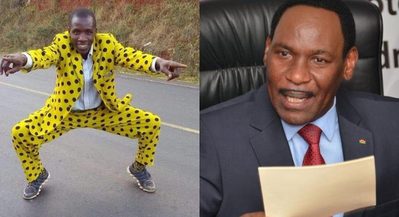 Ezekiel Mutua and Embarambamba
