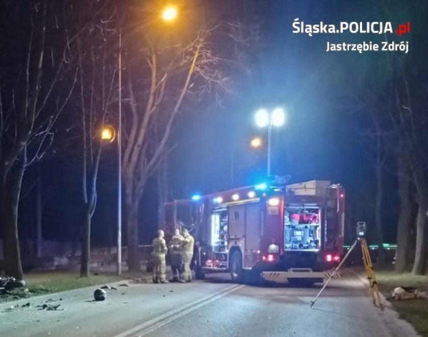 Tragiczna śmierć  motocyklisty w Jastrzębiu-Zdroju