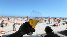 Małe piwo, duży problem. Plaga pijanych plażowiczów