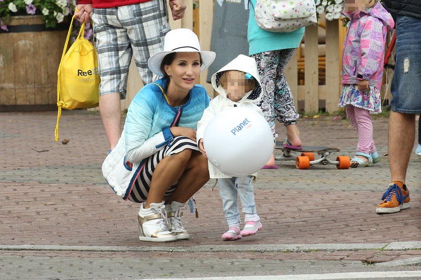 Justyna Steczkowska z córką