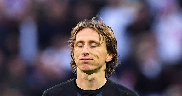 Luka Modrić u neverici