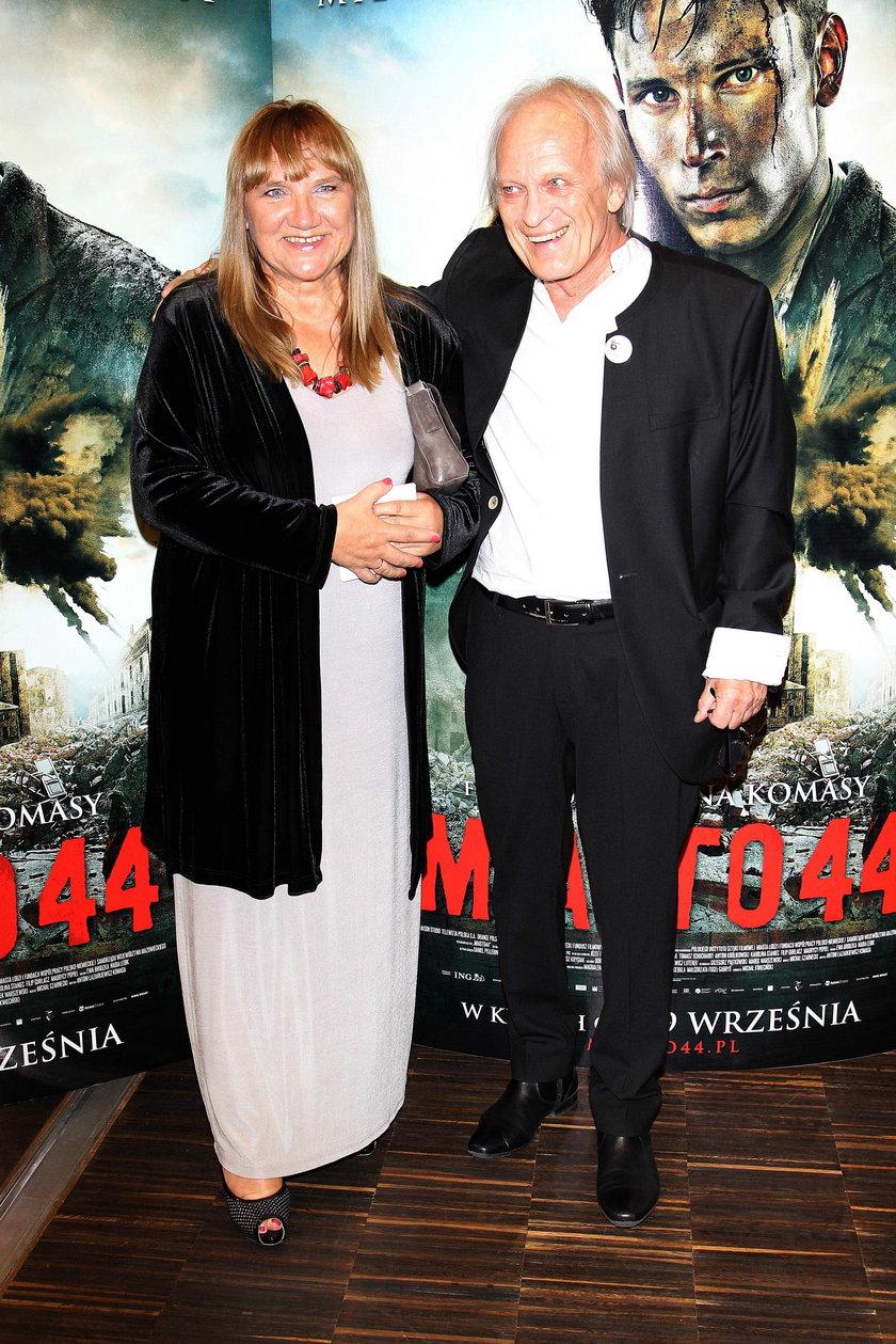 Wiesław Komasa z żoną