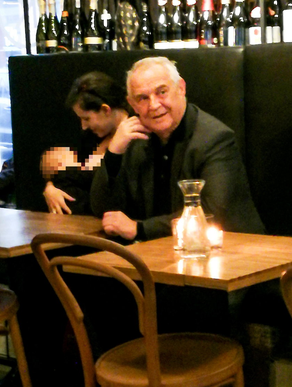 Marek Kondrat z Antoniną i córką