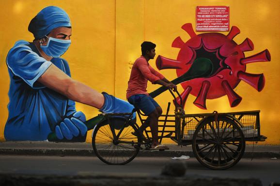 U Indiji najmanje umrlih od kovida od sredine marta