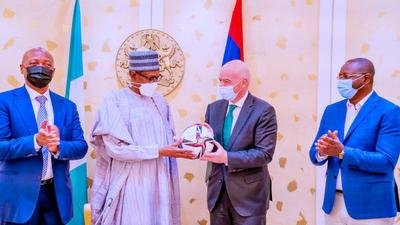 FIFA President hails football's power for unity and celebration during Nigeria visit