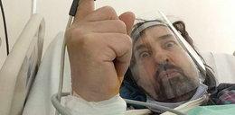 Wokalista Oddziału Zamkniętego miał zawał. Zamieścił zdjęcie ze szpitala