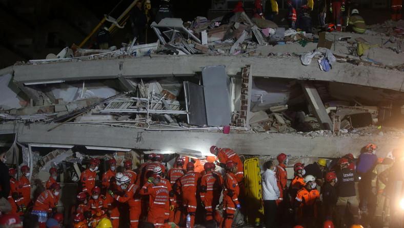 Akcja ratunkowa w Izmirze
