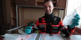Lekarz ratownik: Po dyżurze kleję maski dla siebie i kolegów