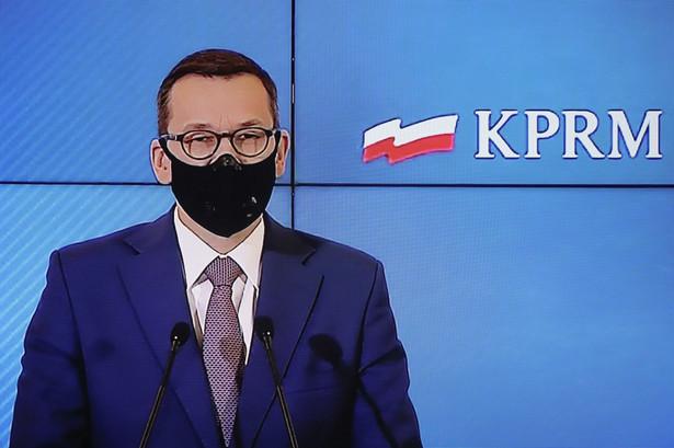 Prezes Rady Ministrów Mateusz Morawiecki