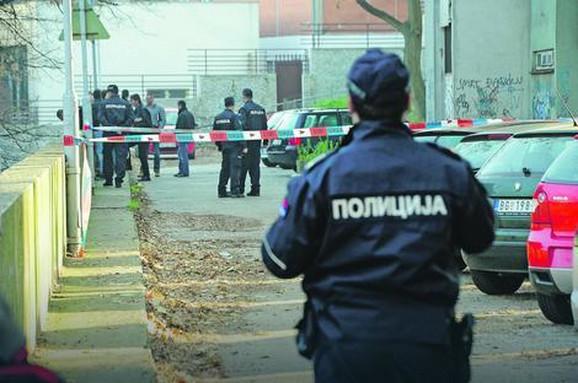 Uviđaj nakon pokušaja ubistva Miloša Đuričkovića u Beogradu