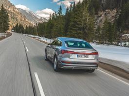 Audi e-tron Sportback – najładniejszy elektryczny SUV