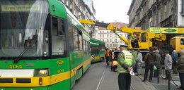 Wykolejony tramwaj sparaliżował ruch