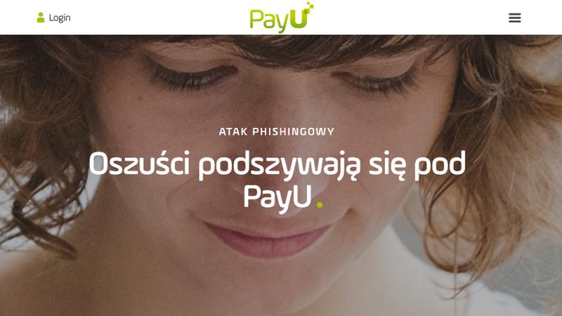 PayU - potwierdzenie przyjętej płatności kartą. Uwaga na oszustów podszywających się pod popularny system płatności