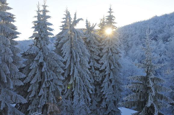 Na planinama sneg