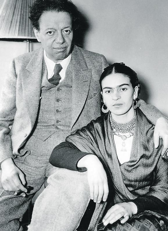 Dijego i Frida u Njujorku, 1933.