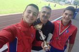 Kosta i Luka Ivicic atleticari Borac
