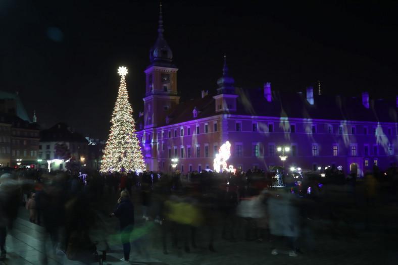 Inauguracja iluminacji świątecznej w Warszawie 3