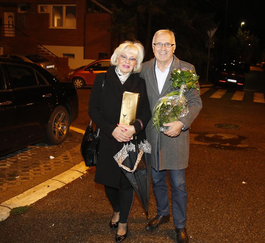 Vanja Bulić sa suprugom Slađanom