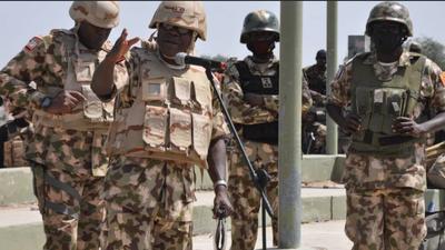 Insurgency: Commander tasks troops on gallantry, discipline