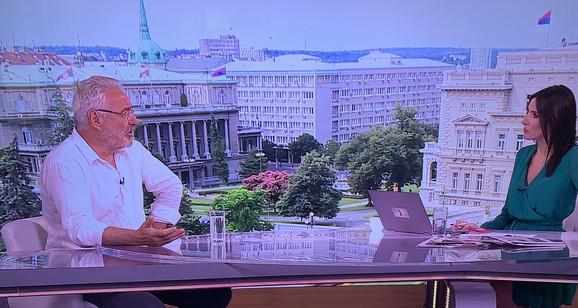 Dr Nestorović na TV Prva