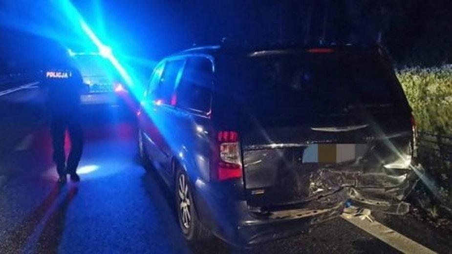 Wypadek drogowy pod Żyrardowem