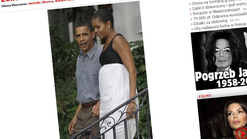 Michelle Obama w stanie błogosławionym?