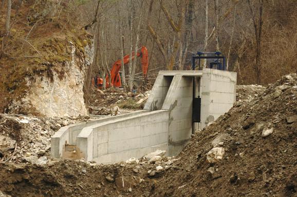 Gradnja MHE uništiće vodu I kategorije