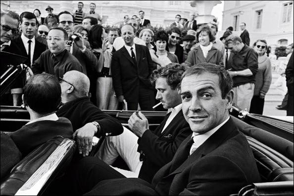 Sean Connery na Cannes Film Festival w 1965 r.