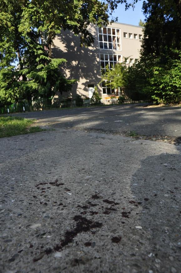 Incident u blizini Srednje turističke škole