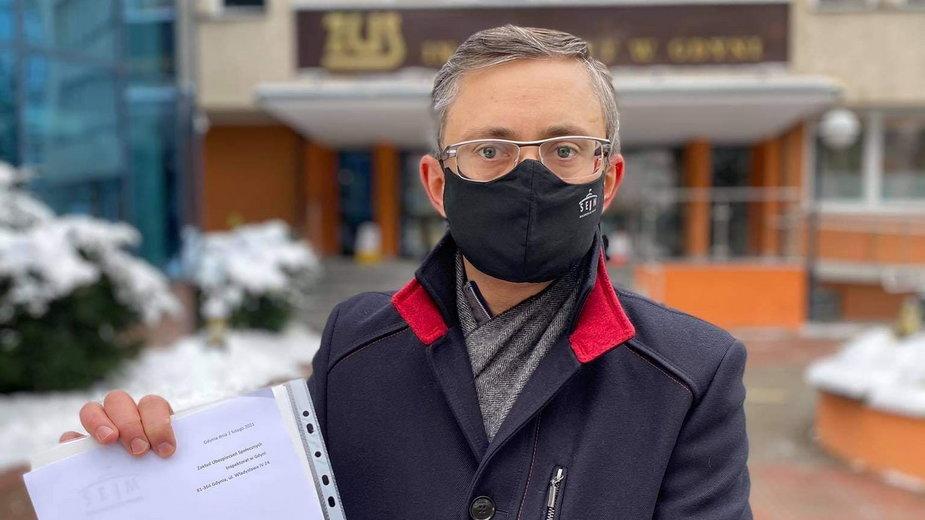Poseł Marek Rutka ze swoim wnioskiem do ZUS