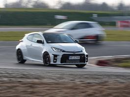 Toyota GR Yaris - zainspirowana rajdami