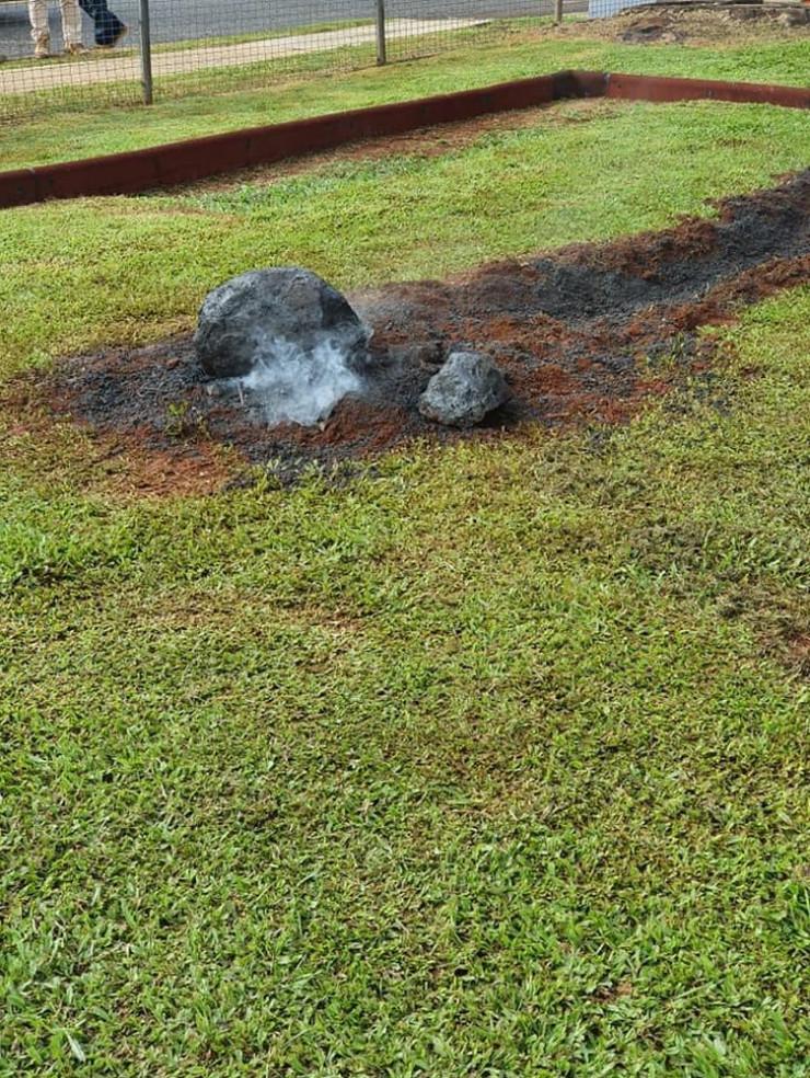 Meteorit u školi u Australiji