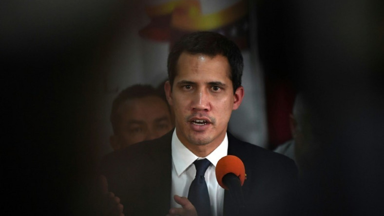 Venezuelan opposition leader Guaido declared himself acting president in January