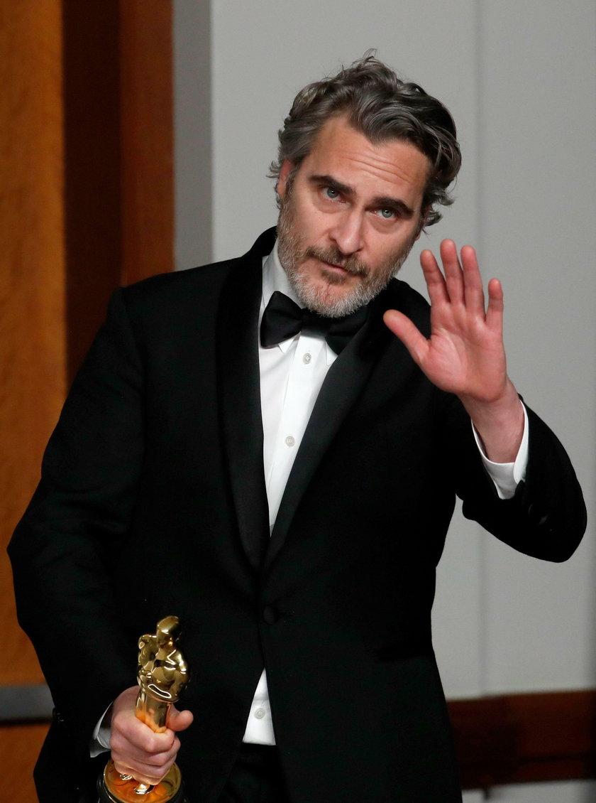 Joaquin Phoenix na 92. gali rozdania Oscarów
