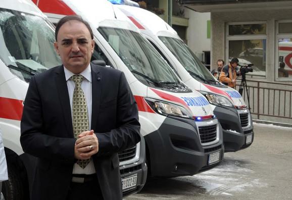 Dr Miloš Božović: Spremni za prihvat pacijenata