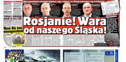 Rosjanie, wara od Śląska!