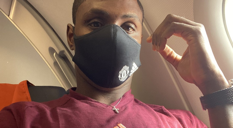 Odion Ighalo jets off to Germany with Manchester United for Europa League tourney