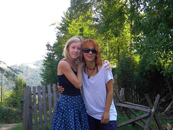 Dragana sa Magdalenom, gošćom iz Češke