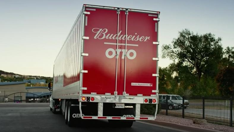 OCTOBER 2016: Otto's self-driving truck drives 120 miles from Fort Collins, Colorado at 1 a.m. to Colorado Springs. The truck delivers 2,000 cases of Budweiser beer.