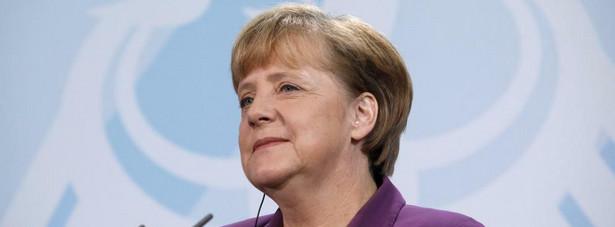 Kanclerz Nemiec Angela Merkel.