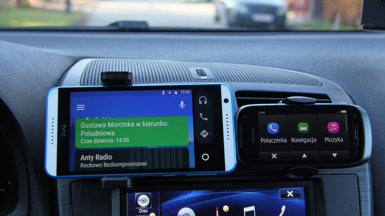 Android Auto i Nokia Car Mode
