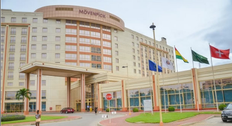 Staff of Movenpick Hotel lay down tools over 'racist' treatment by management