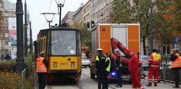 Tramwaje zderzyły się w Warszawie. Wielu rannych