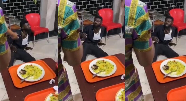Man gets weak, vomits after tasting friend's drink & food  he denied poisoning (video)