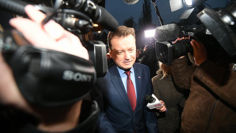Według PO, projekt daje zbyt dużą władzę Mariuszowi Błaszczakowi