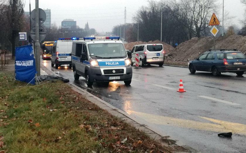 Śmiertelny wypadek przy ul. Rydza- Śmigłego